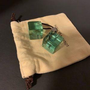 Louis Vuitton cube hair tie